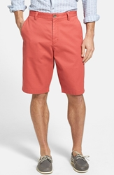 Cutter And Buck 'Beckett' Shorts Big And Tall Washed Red
