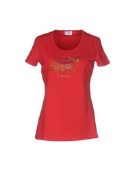 Braccialini Topwear T Shirts Women Red