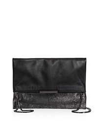Botkier Irving Clutch Anthracite Gunmetal