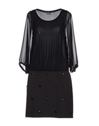 Pf Paola Frani Short Dresses Black