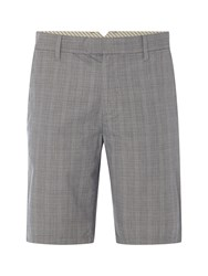 White Stuff Seamster Check Short Grey