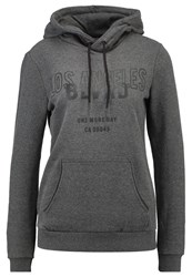 Twintip Hoodie Dark Grey Melange Mottled Dark Grey