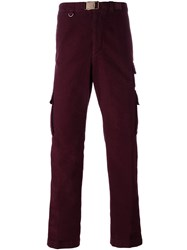 Missoni Straight Cargo Trousers Red
