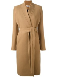 Iro Belted Long Coat Brown