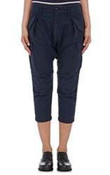 Nlst Women's Harem Cargo Pants Blue