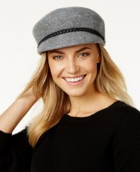 Nine West Felt Newsboy Hat Hgrey