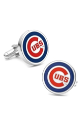 Ravi Ratan Cufflinks Inc. 'Chicago Cubs' Cuff Links Blue Red White