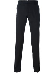 Dondup Straight Fit Trousers Black