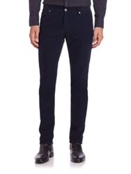 J. Lindeberg Jay Five Pocket Corduroy Jeans Dark Blue