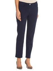 Betty Barclay Sally Four Pocket Cropped Jeans Navy Blue