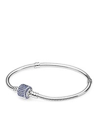 Pandora Design Bracelet Sterling Silver And Cubic Zirconia Moments Collection