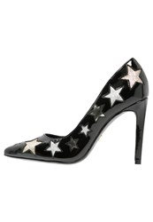 Ivyrevel Bellucci High Heels Black Gold Silver