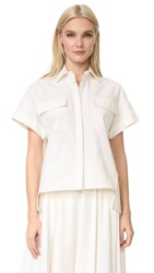 Novis Short Sleeve Blouse Ivory
