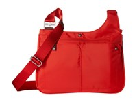 Baggallini Stand Up Poppy Handbags Red