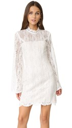 Keepsake Uptown Lace Mini Dress Ivory