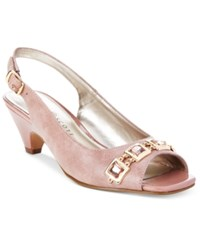 Karen Scott Analese Pumps Only At Macy's Women's Shoes Mauve Blush