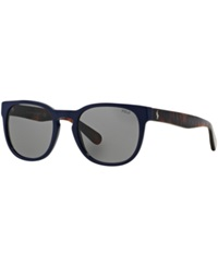Polo Ralph Lauren Sunglasses Polo Ralph Lauren Ph4099 52 Blue Dark Grey