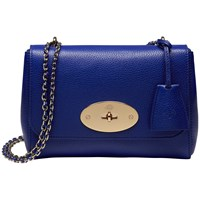 Mulberry Lily Across Body Bag Neon Blue
