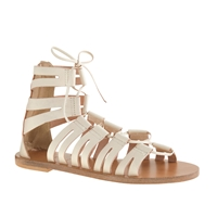 J.Crew Lace Up Gladiator Sandals Vintage Champagne