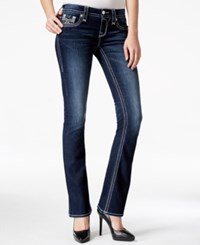 Rock Revival Bootcut Dark Blue Wash Jeans