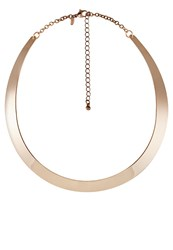 Miss Selfridge Necklace Rose Goldcoloured