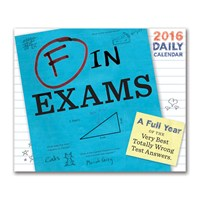 Chronicle Books 2016 Daily Calendar F In Exams