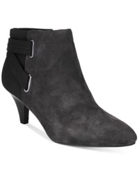 Alfani Women's Vandela 2 Ankle Booties Only At Macy's Women's Shoes Anthracite