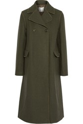 3.1 Phillip Lim Wool Blend Coat Army Green
