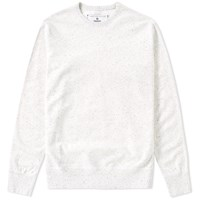 Reigning Champ Terry Crew Sweat White