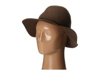 Hat Attack Water Resistant Felt Hat Putty Traditional Hats Taupe