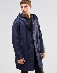 Pretty Green Parka In Navy Navy