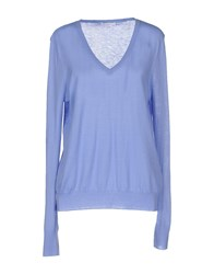 Equipment Femme Sweaters Sky Blue
