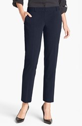 Petite Women's Michael Michael Kors 'Miranda' Stretch Ankle Pants