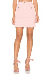 Love Moschino Double Pocket Skirt Pink