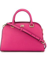 Dolce And Gabbana Bowling Tote Bag Pink And Purple