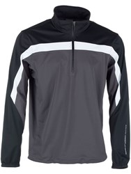 Galvin Green Men's Bart Half Zip Gore Windstopper Grey