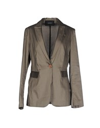 Caractere Suits And Jackets Blazers Women Grey