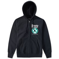 Bounty Hunter Jaybird Zip Hoody Black