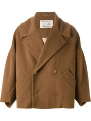 Henrik Vibskov 'Floating Short' Peacoat Brown