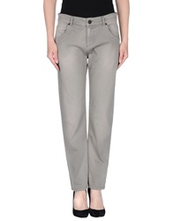 Twin Set Simona Barbieri Denim Pants Grey