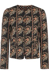 Etoile Isabel Marant Elmer Reversible Floral Print Quilted Cotton Jacket