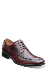 Men's Florsheim 'Burbank' Apron Toe Derby Brown