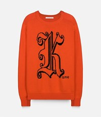 Christopher Kane Crew Neck Jumper Red