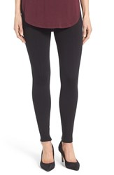 Halogenr Petite Women's Halogen Seamed Leggings Black