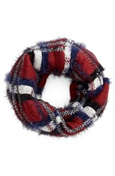 Women's Bp. Plaid Infinity Scarf
