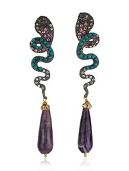 Katerina Psoma Snake Earrings