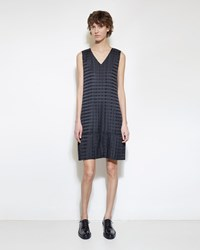Issey Miyake Light Pleats Dress Grey