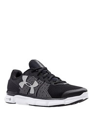 Under Armour Speed Swift Running Shoes Black And White