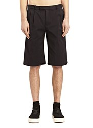 J.W.Anderson J.W. Anderson Tech Twill Straight Shorts Black
