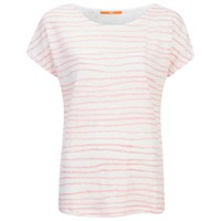 Boss Orange Women's Tamixi Stripe T Shirt Orange